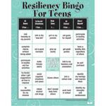 Resiliency Bingo Game for Teens