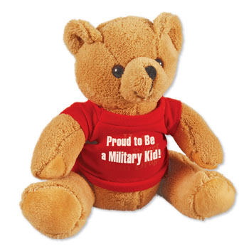 Proud to be a Military Kid Teddy Bear