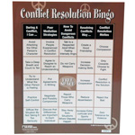 Conflict Resolution Bingo Game