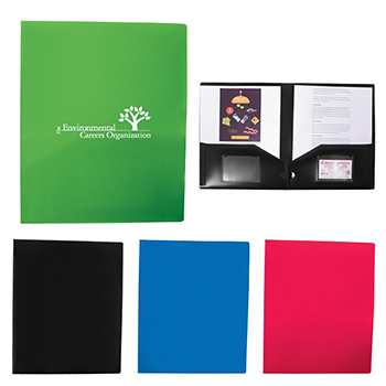 Polypropylene 2 Pocket Folder