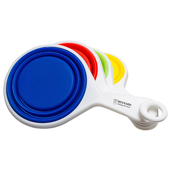 Pop Out Silicone Measuring Cup Set