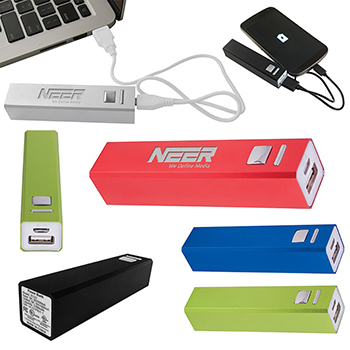 Aluminum Power Bank Emergency Battery Charger