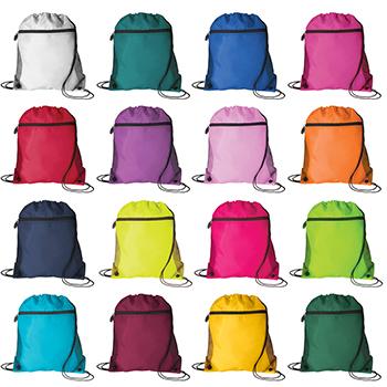Mesh Pocket Drawcord  Bag