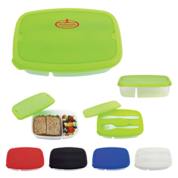 2 Section Lunch Container