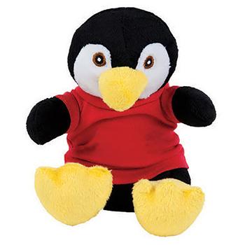 "7"" Extra Soft Penguin with T Shirt, Ribbon or Bandana"