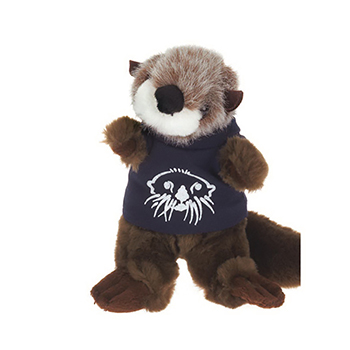 "8"" Wild Outdoor Plush Otter T Shirt, Ribbon, or Bandana"