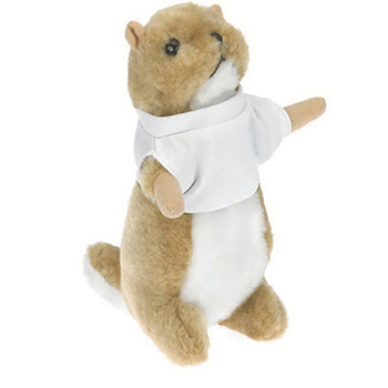 "8"" Wild Outdoor Prairie Dog With Ribbon or Bandana"