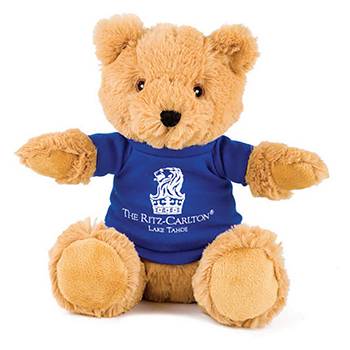 "10"" Alpine Bear With T Shirt, Ribbon or Bandana"