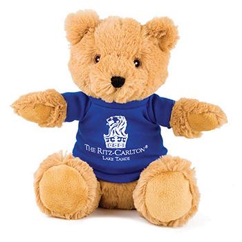 "10"" Alpine Bear With T Shirt, Ribbon or Bandana"