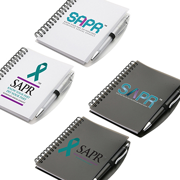 SAPR Hardcover Notebook & Pen Set