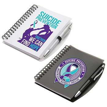 Suicide Prevention Hardcover Notebook & Pen Set