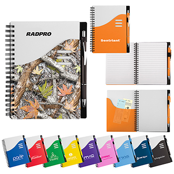 Color Wave Notebook