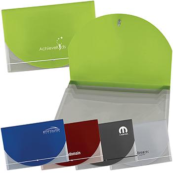 Color Flap Translucent Document Holder