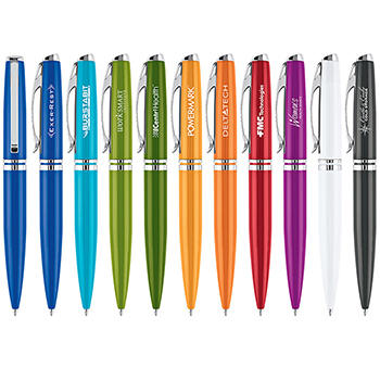 Brilliant Stainless Steel Ballpoint Pen