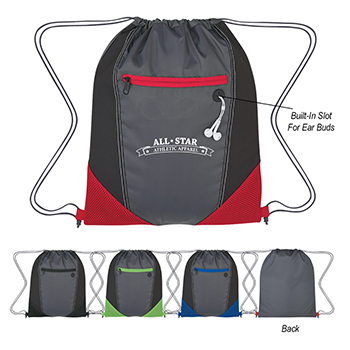 Two Tone Drawstring Sports Pack