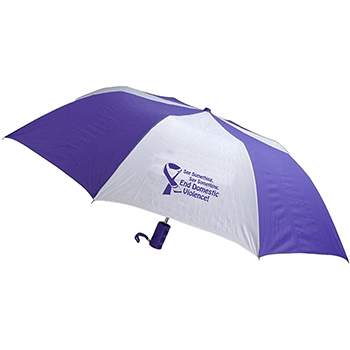 End Domestic Violence Barrister Auto Open Umbrella