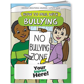 How to Deal with Bullying Coloring Book