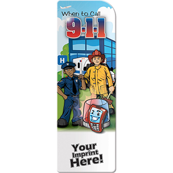 When to Call 9 1 1 Bookmark
