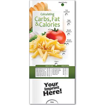 Calculating Carbs, Fat, and Calories Pocket Slider