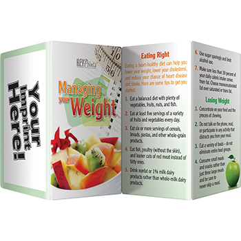 Managing Your Weight Fold Out