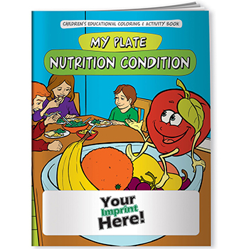 My Plate: Nutrition Condition Coloring Book