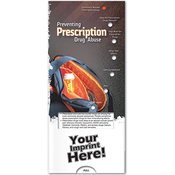 Preventing Prescription Drug Abuse Pocket Slider