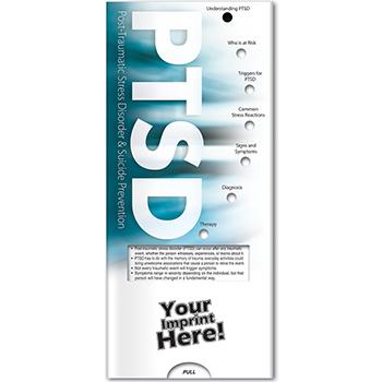 PTSD & Suicide Prevention Pocket Slider