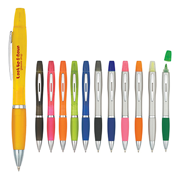 Twin Write Pen With Highlighter