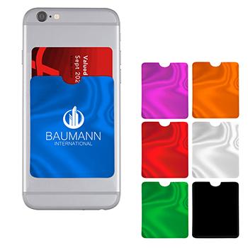 RFID Data Blocking Phone Card Sleeve