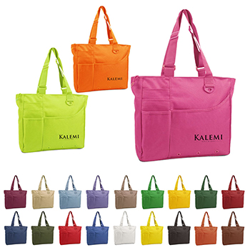 Multi Purpose Function Zipper Tote