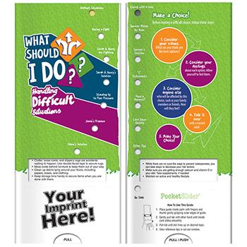 What Should I Do  Handling Difficult Situations Pocket Slider