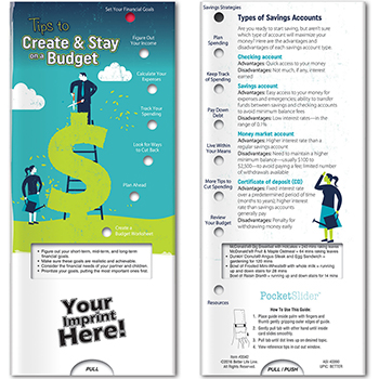 Tips Top Create & Stay on Budget Pocket Slider