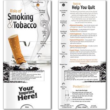 Risks of Smoking & Tobacco Pocket Slider
