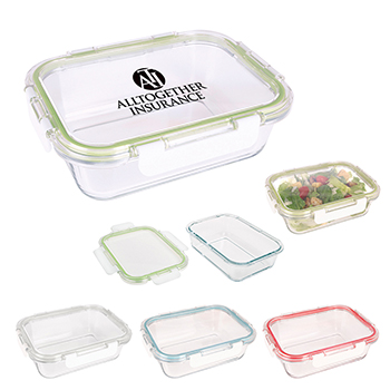 Fresh Prep Square Glass Food Container