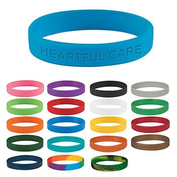 Single Color Silicone Bracelet