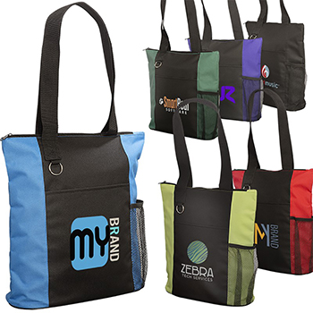 Essential Tote With Zipper Closure