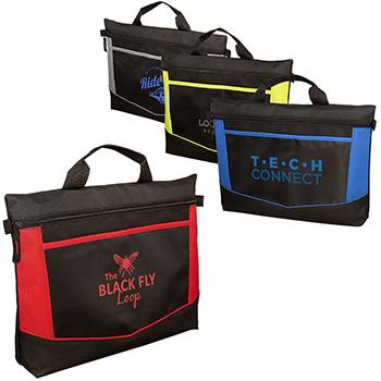 Gofer Lightweight Polyester Briefcase