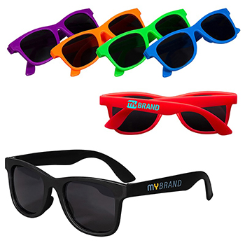 Youth Single Tone Matte Sunglasses