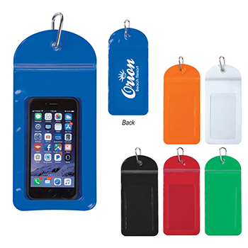 Splash Proof Phone Pouch with Carabiner