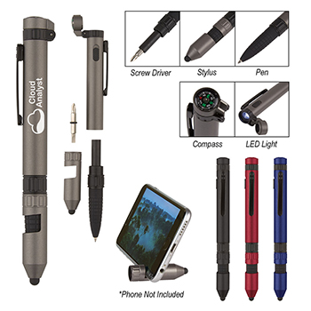 6 in 1 Quest Multi Tool Pen