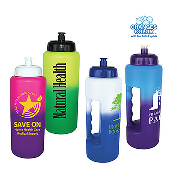 32 oz. Mood Grip Bottle with Push 'n Pull Cap