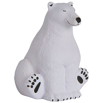 Sitting Polar Bear Stress Reliever