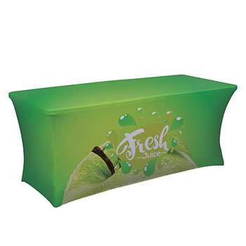 6' UltraFit Curve Table Throw With Full Color
