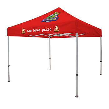 10' Elite Tent Kit   2 Location Full Color Imprint