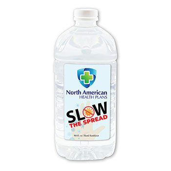 64 oz Hand Sanitizer Bottle