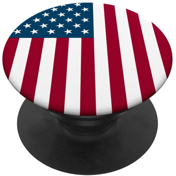 American Flag Pop Socket