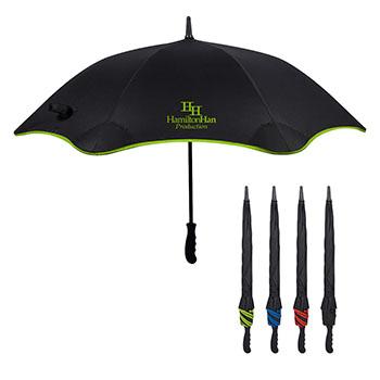 "46"" Arc Scalloped Edge Umbrella"
