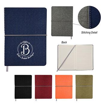5 x 7 Heathered Linen Journal