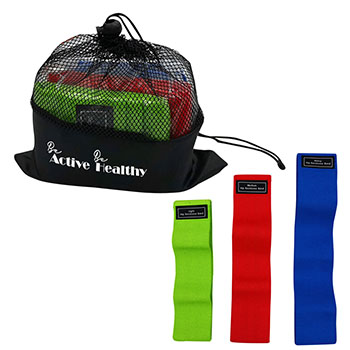 Fabric Resistance Band Set