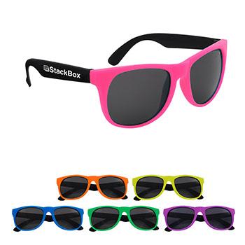 Kapowski Rubberized Sunglasses